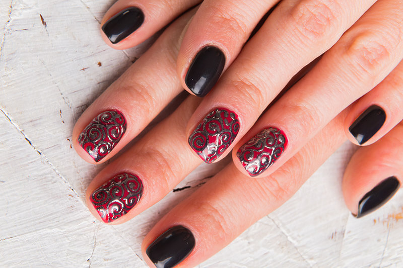 Stamping Nails Art